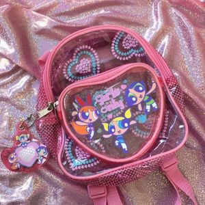 """Other - 2001 """"Girl Only"""" Power Puff Girls Mini Backpack"""